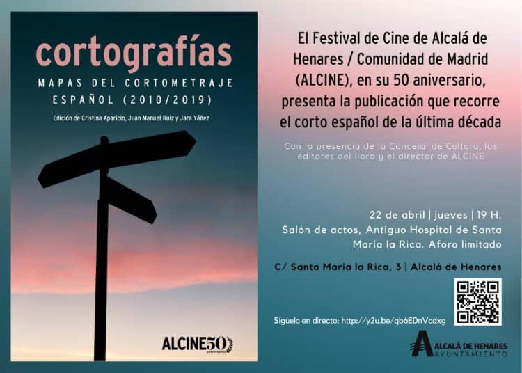 """ALCINE presenta la publicación """"Cortografías. Mapas del cortometraje español (2010-2019)"""""""