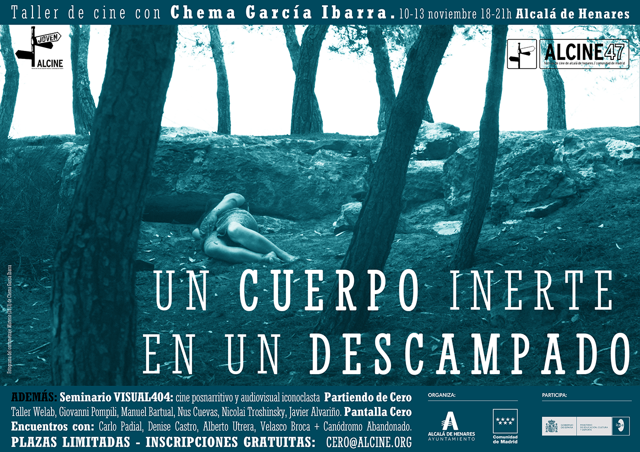 (Free) Film Workshop with Chema García Ibarra