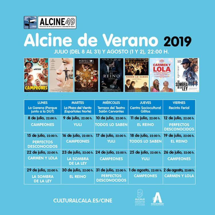 ALCINE de verano vuelve con las mejores películas españolas del año