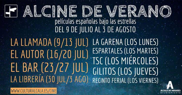 Comienza ALCINE de verano, películas españolas bajo las estrellas para las noches de julio