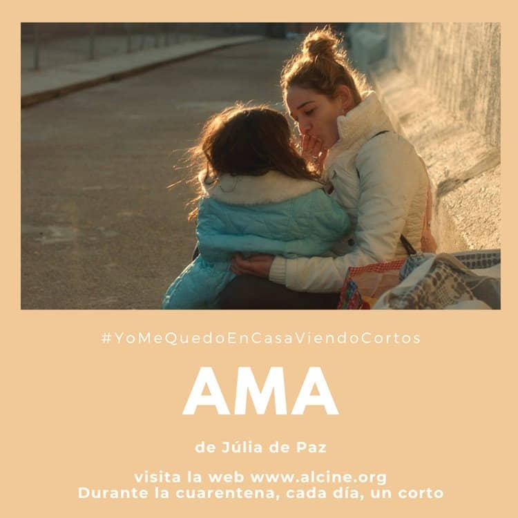 """""""Ama"""", de Júlia de Paz, retrato de una madre e hija a la intemperie #YoMeQuedoEnCasaViendoCortos"""
