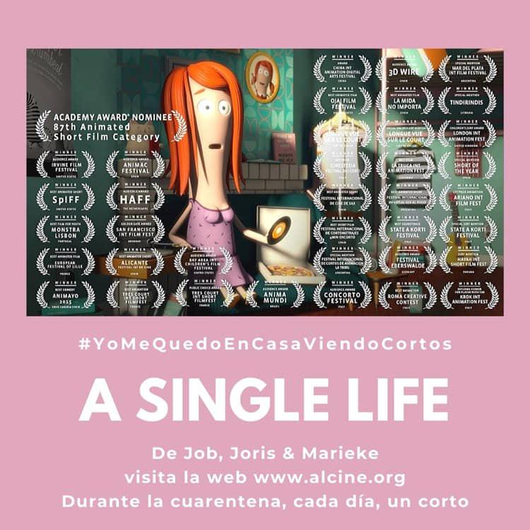 """""""A Single Life"""", toda una vida en dos minutos #YoMeQuedoEnCasaViendoCortos"""