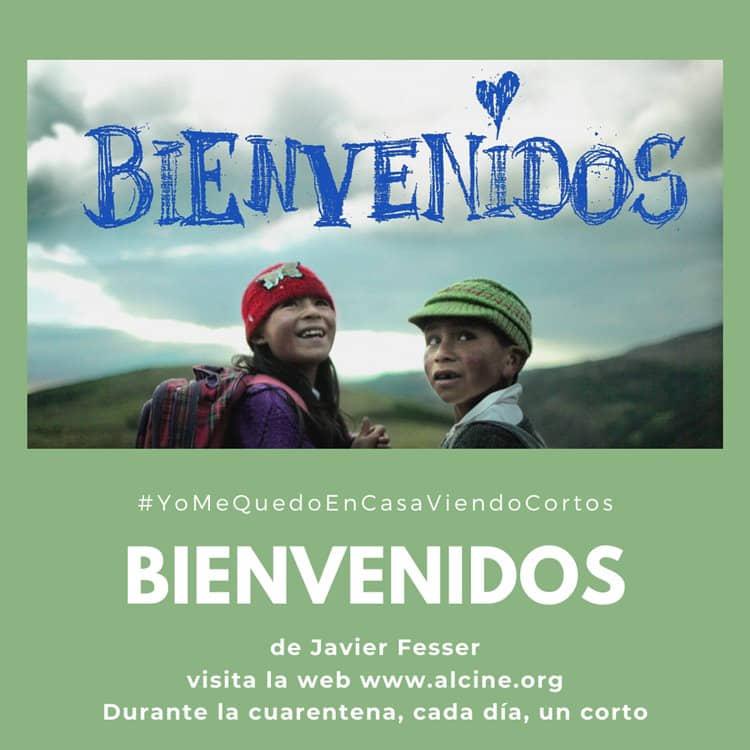 """""""Bienvenidos"""",  o cómo Internet revoluciona una escuela en los Andes, visto con humor y ternura por Fesser  #YoMeQuedoEnCasaViendoCortos"""