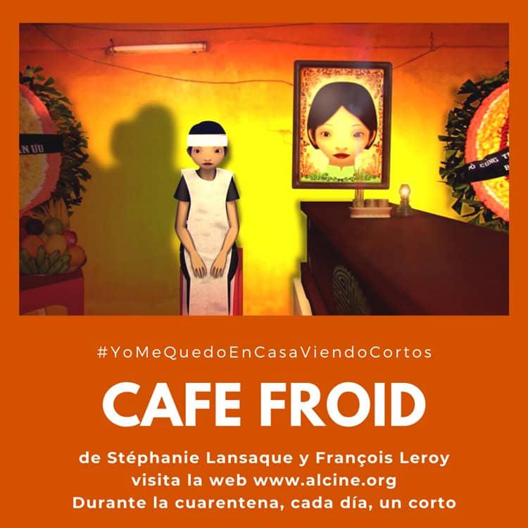 """""""Cafe Froid"""", cromatismo y técnica sorprendentes para esta joya de la animación #YoMeQuedoEnCasaViendoCortos"""