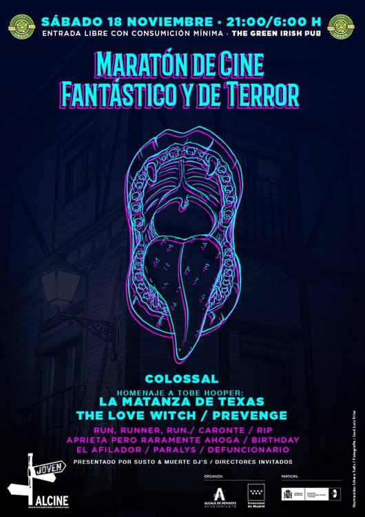 Maratón de Cine Fantástico y de Terror