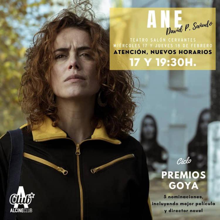 Ane, con cinco nominaciones a los Goya, esta semana en ALCINE Club