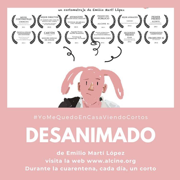 """""""Desanimado"""", cuando un dibujo no encaja en el mundo real @YoMeQuedoEnCasaViendoCortos"""