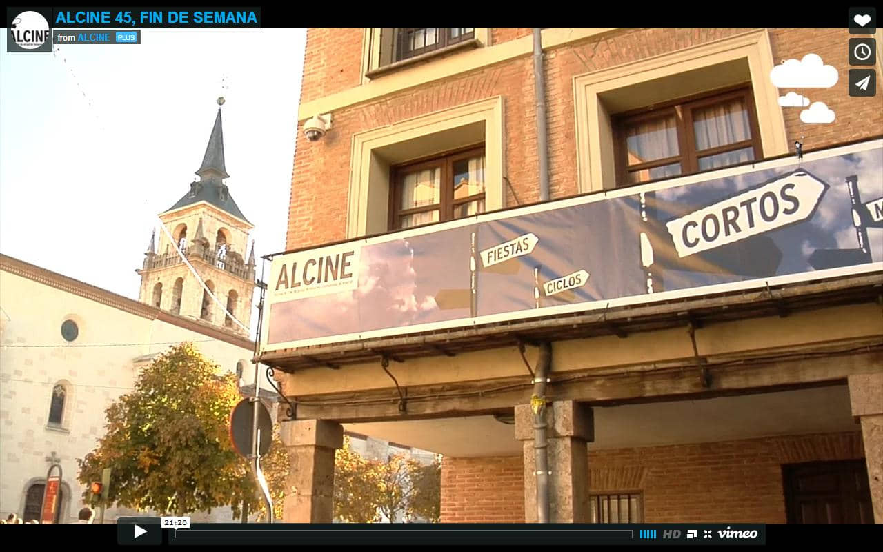 Alcine; a story told in images