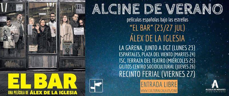 """""""El bar"""", de Álex de la Iglesia, en ALCINE de verano"""