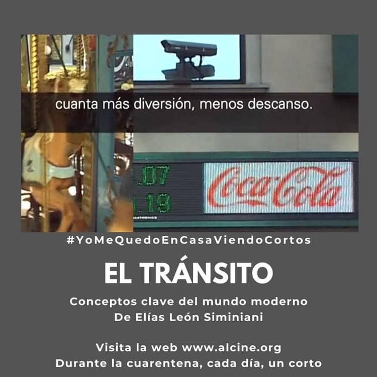 """Siminiani busca las claves del mundo moderno en """"El tránsito"""" #YoMeQuedoEnCasaViendoCortos"""