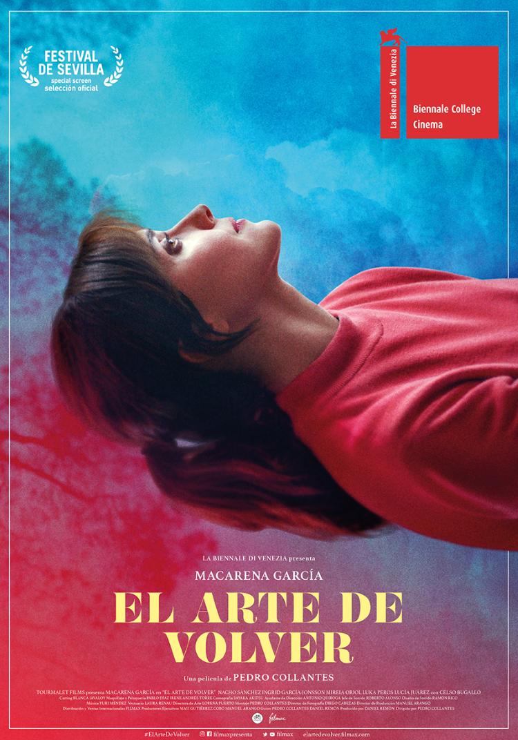 """Macarena García protagoniza """"El arte de volver"""", la ópera prima de Pedro Collantes. Martes 10, 18:30h, Teatro Salón Cervantes"""