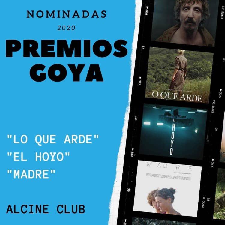 Las películas nominadas a los Goya toman ALCINE Club en enero