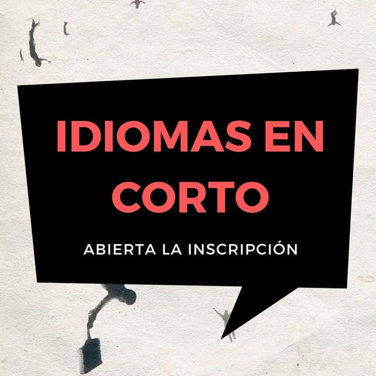 Abierta la inscripción para institutos en 'Idiomas en corto'