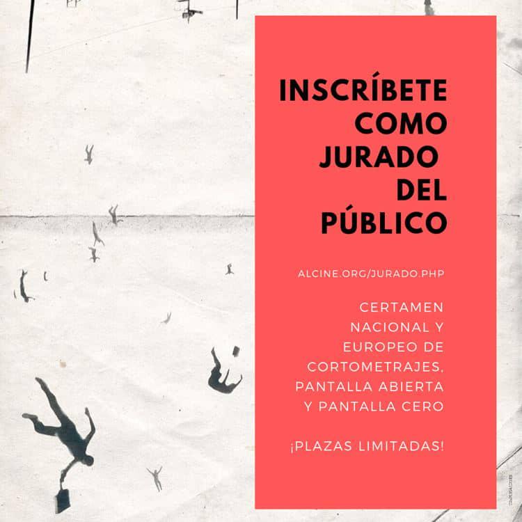 Abierta la inscripción como jurado del público en los Certámenes de ALCINE49