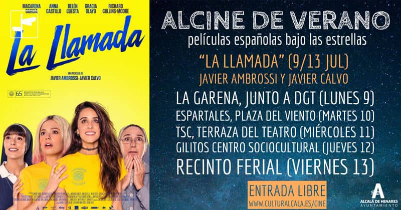 """""""La llamada"""", de Javier Ambrossi y Javier Calvo, primera película de ALCINE de verano"""