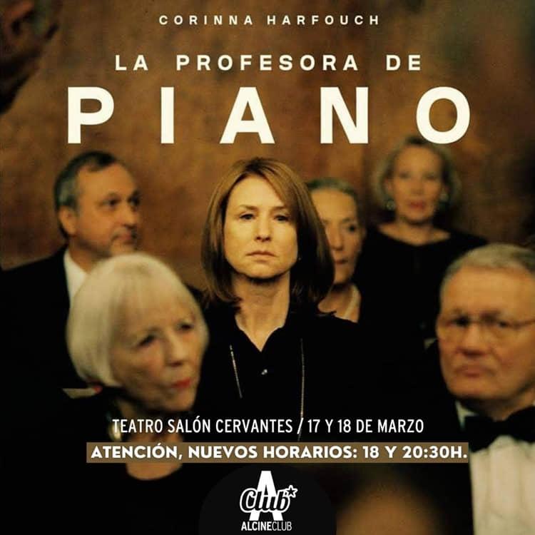 """""""La profesora de piano"""", vocación, maternidad, tensión y música en ALCINE Club"""