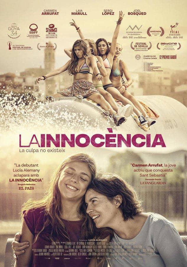 """""""La inocencia"""", el debut de Lucía Alemany, llega a Pantalla Abierta. Miércoles 11, 21h. Teatro Salón Cervantes"""