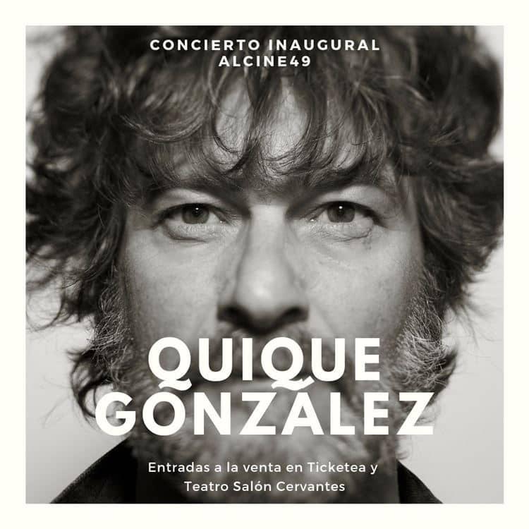 Quique González abrirá la 49 edición de ALCINE