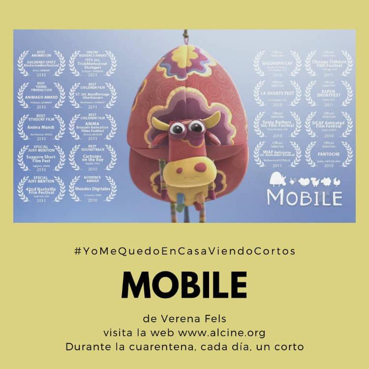 """""""Mobile"""", joya para todos los públicos de Verena Fels, nuevo corto de  #yomequedoencasaviendocortos"""
