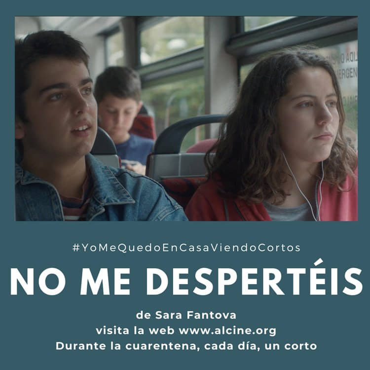 """""""No me despertéis"""", una adolescente vasca entre dos mundos opuestos #YoMeQuedoEnCasaViendoCortos"""