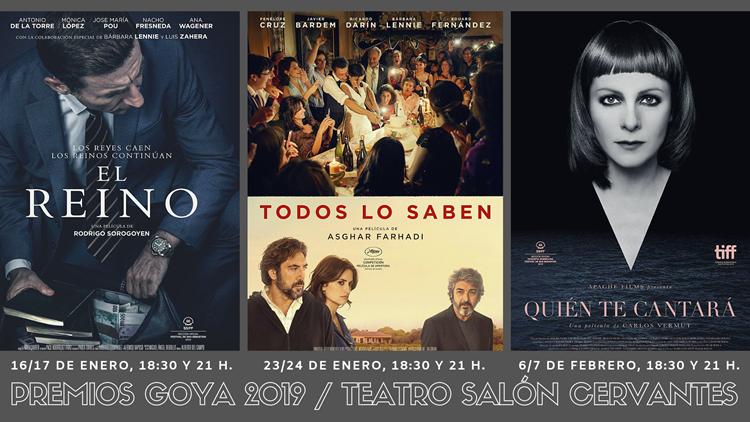 Alcine Club inicia un ciclo con candidatas a los Goya 2019