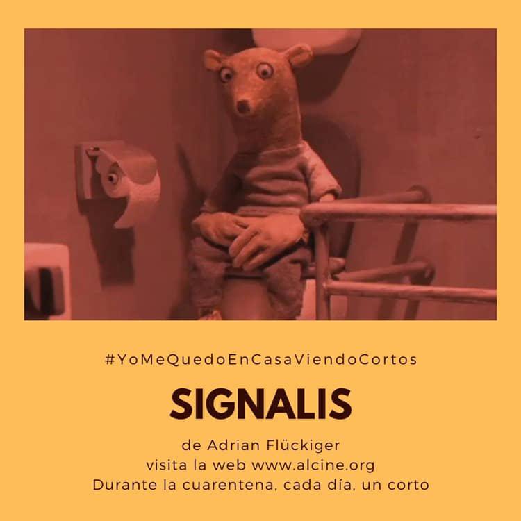 """""""Signalis"""", lección sobre confinamiento y papel higiénico #YoMeQuedoEnCasaViendoCortos"""