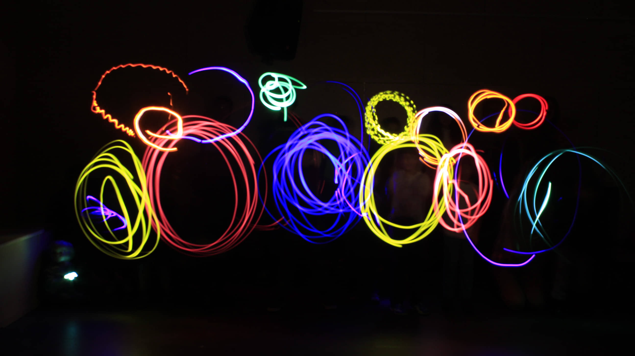 Sign up to the Pika Pika animation workshop and learn to paint with light