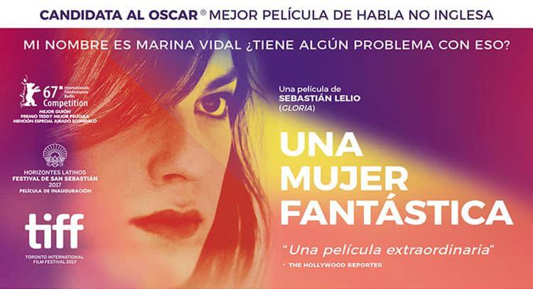 """La ganadora del Oscar """"Una mujer fantástica"""", en Alcine Club"""