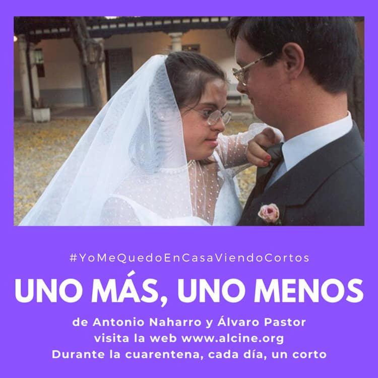 """""""Uno más, uno menos"""", el corto con el que Naharro y Pastor conquistaron al público #YoMeQuedoEnCasaViendoCortos"""