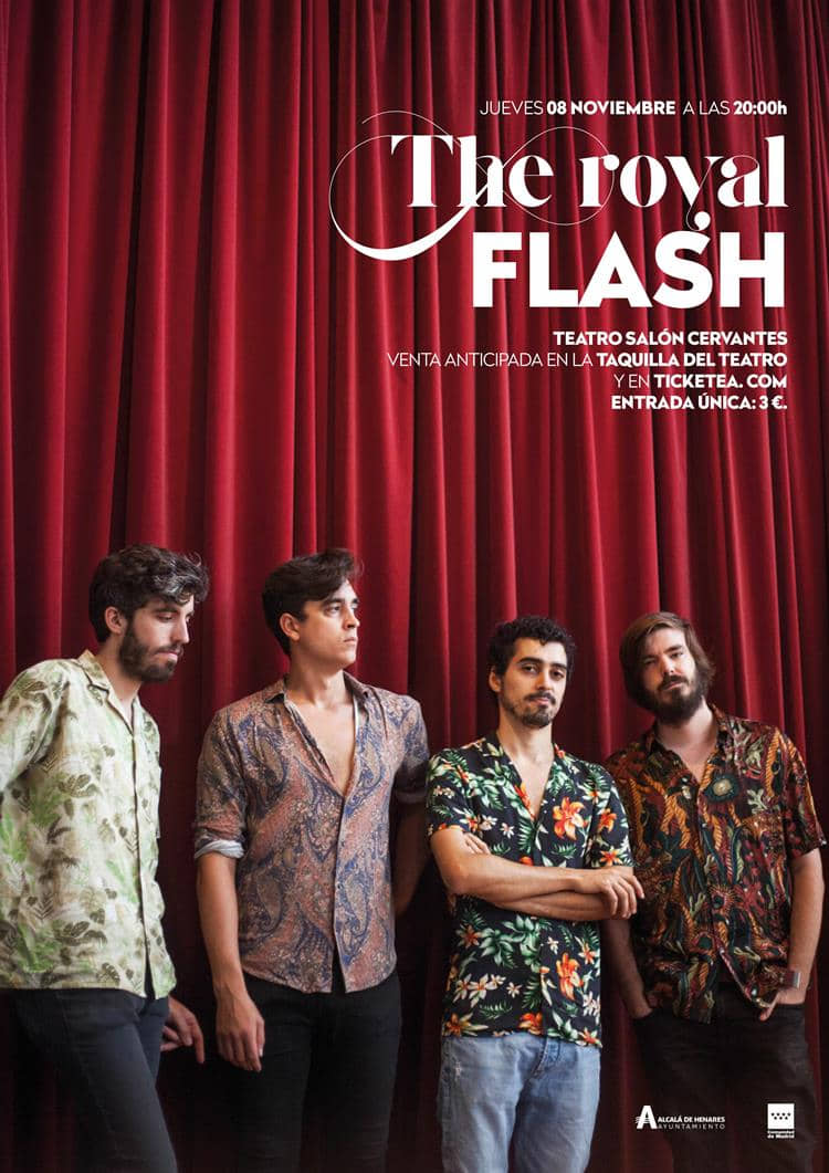 El rock salvaje de The Royal Flash abre la 48ª edición del festival ALCINE
