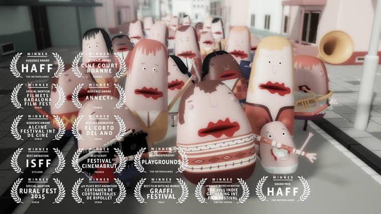 """""""Mute"""", una obra maestra de animación contemporánea, hoy en #yomequedoencasaviendocortos"""