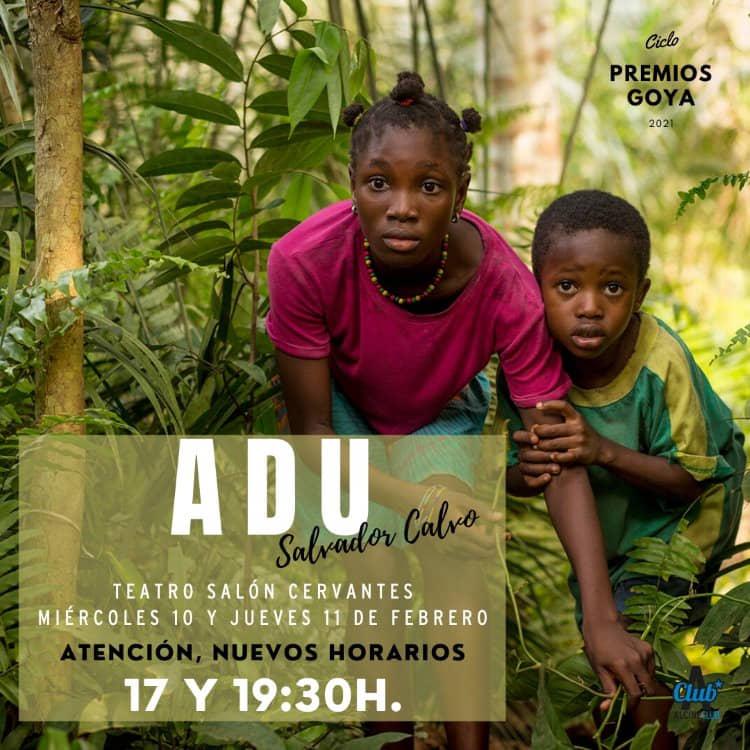 """ALCINE Club proyecta """"Adu"""", la película con más nominaciones a los Goya"""