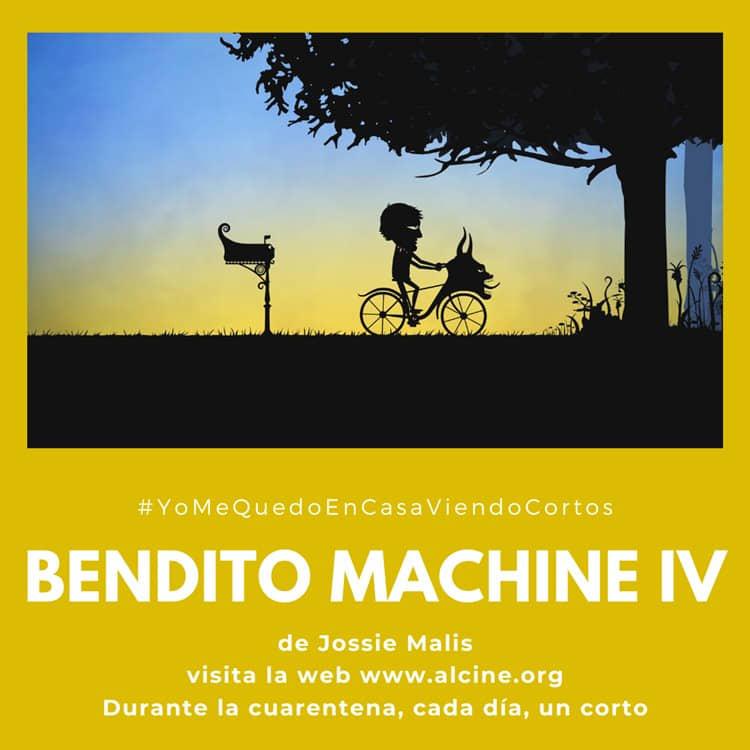"""""""Bendito Machine IV"""", una de las cumbres de la animación española de la década #YoMeQuedoEnCasaViendoCortos"""