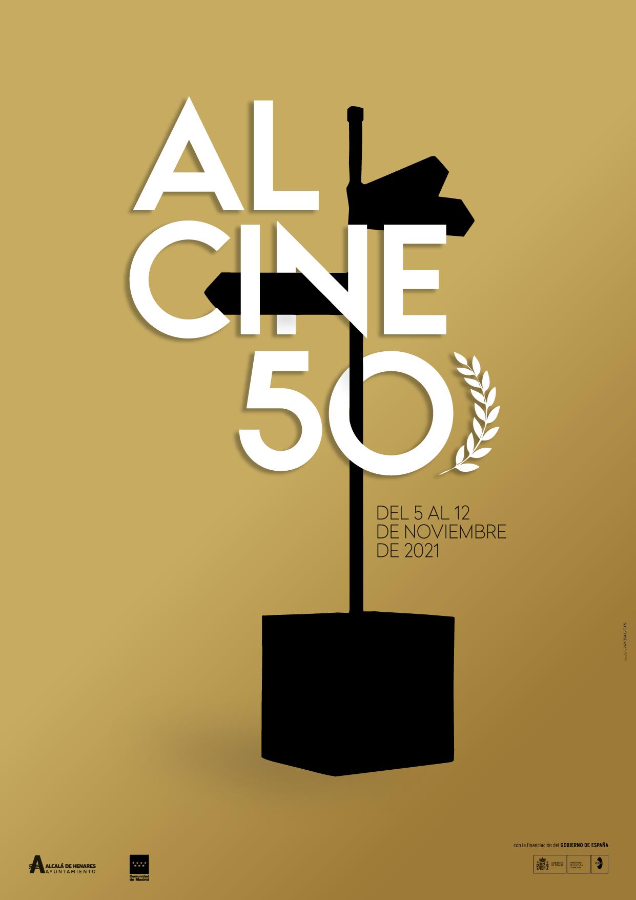 ALCINE, Festival de Cine de Alcalá de Henares / Comunidad de Madrid presenta cartel