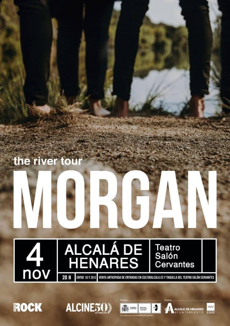 Morgan inicia su gira en ALCINE50 el 4 de noviembre