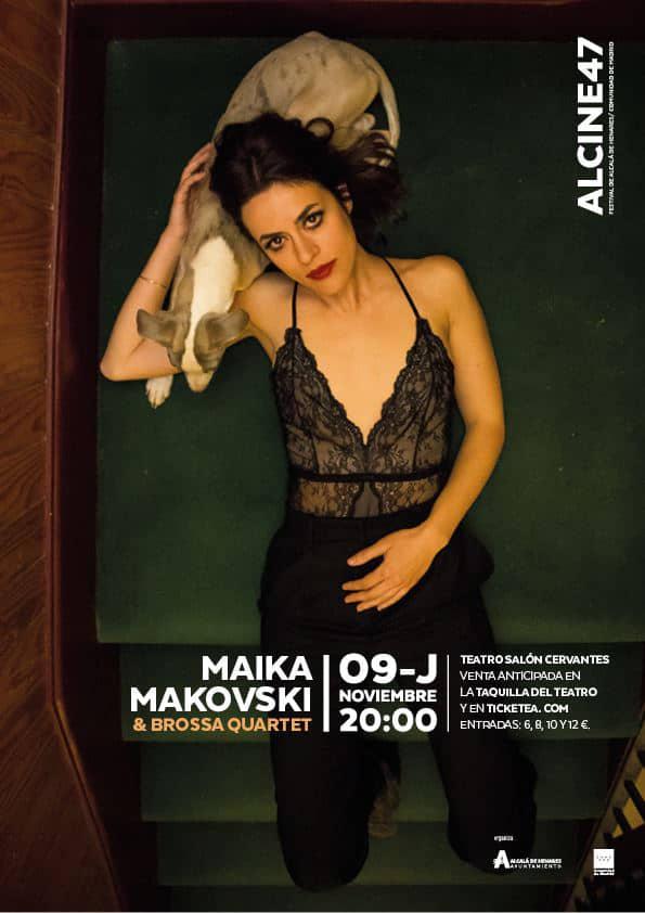 El directo de Maika Makovski abrirá ALCINE47