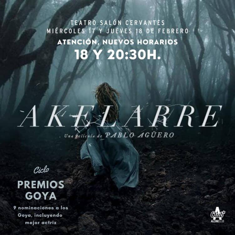 """ALCINE Club proyecta """"Akelarre"""", con 9 nominaciones a los Goya"""