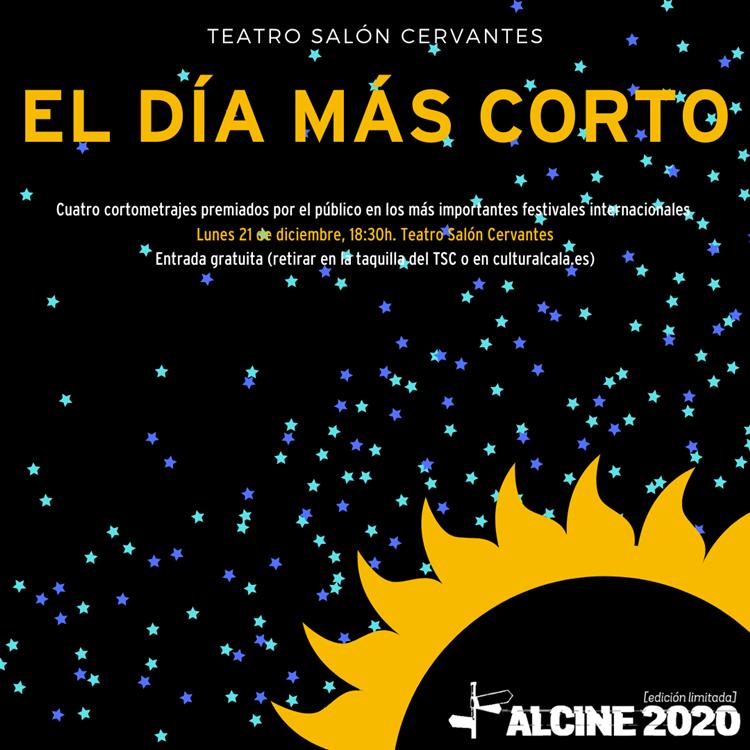 """ALCINE se despide de 2020 celebrando """"El día más corto"""""""