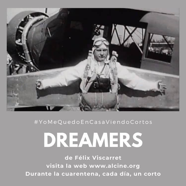 """Viscarret reinventa el pasado a partir de metraje encontrado en """"Dreamers"""" #YoMeQuedoEnCasaViendoCortos"""