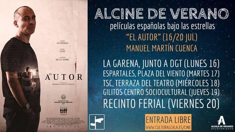 """""""El autor"""", de Manuel Martín Cuenca, la película de la semana en ALCINE de verano"""