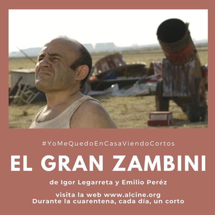 """""""El gran Zambini"""", Legarreta y Peréz emocionan con este corto sobre estaturas e ilusiones #YoMeQuedoEnCasaViendoCortos"""