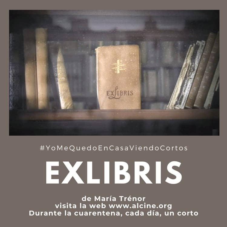 """""""Exlibris"""", de María Trénor, Un poema visual que rinde homenaje a los libros #YoMeQuedoEnCasaViendoCortos"""