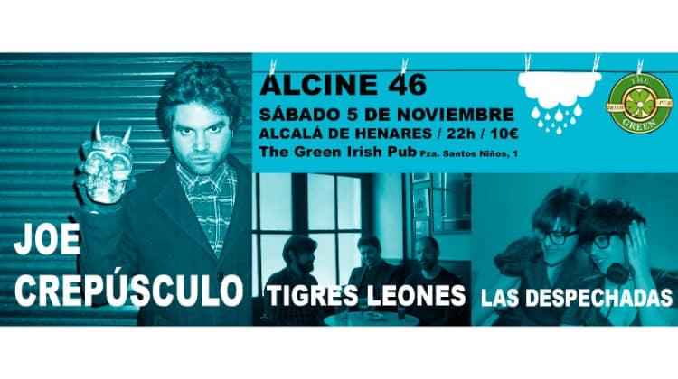 ALCINE, más indie que nunca con Joe Crepúsculo, Tigres Leones y Las Despechadas