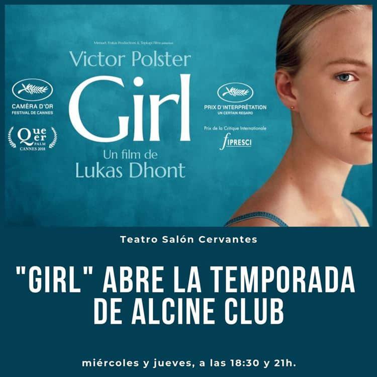 """ALCINE Club abre su nueva temporada con """"Girl"""""""