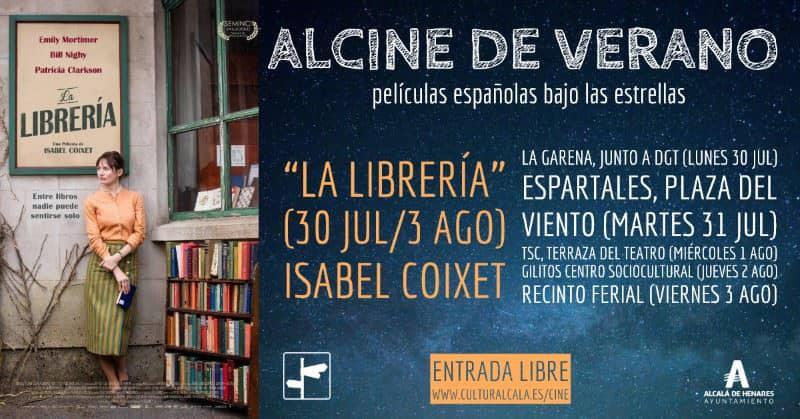"""""""La librería"""", Goya a la mejor película, dirección y guion adaptado, en ALCINE de verano"""