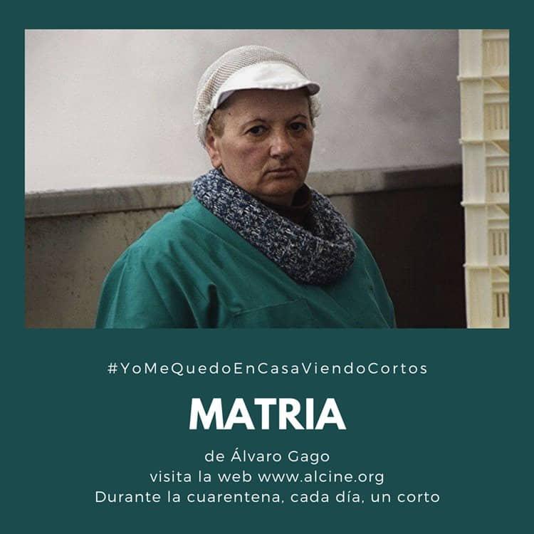 """""""Matria"""", corto español más premiado de los últimos tiempos, en #yomequedoencasaviendocortos"""