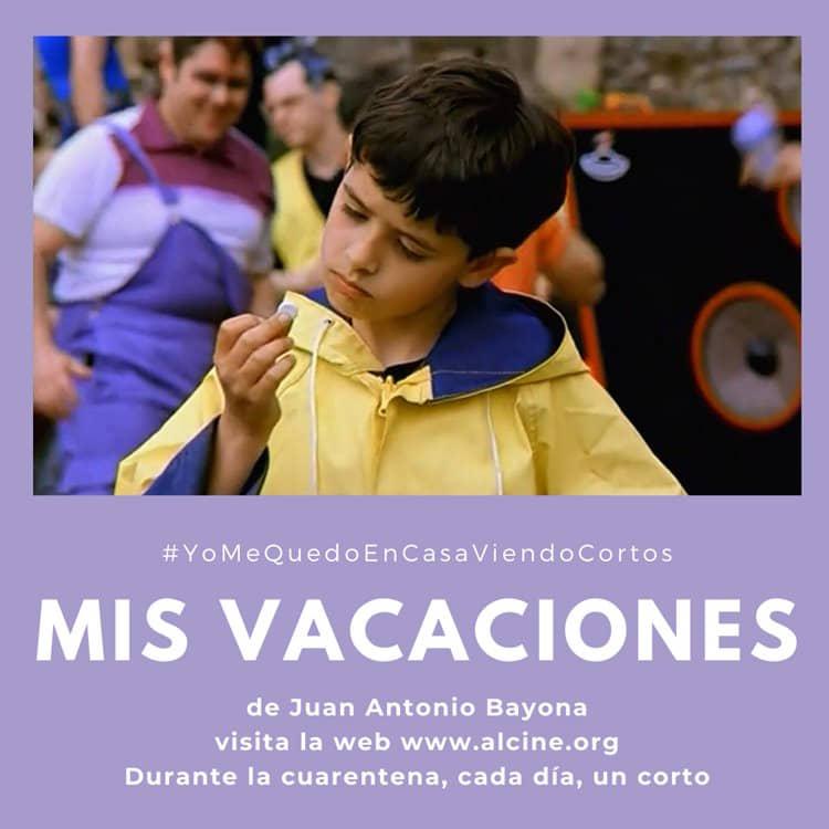 """""""Mis vacaciones"""", el deslumbrante debut de Bayona en el cine #YoMeQuedoEnCasaViendoCortos"""