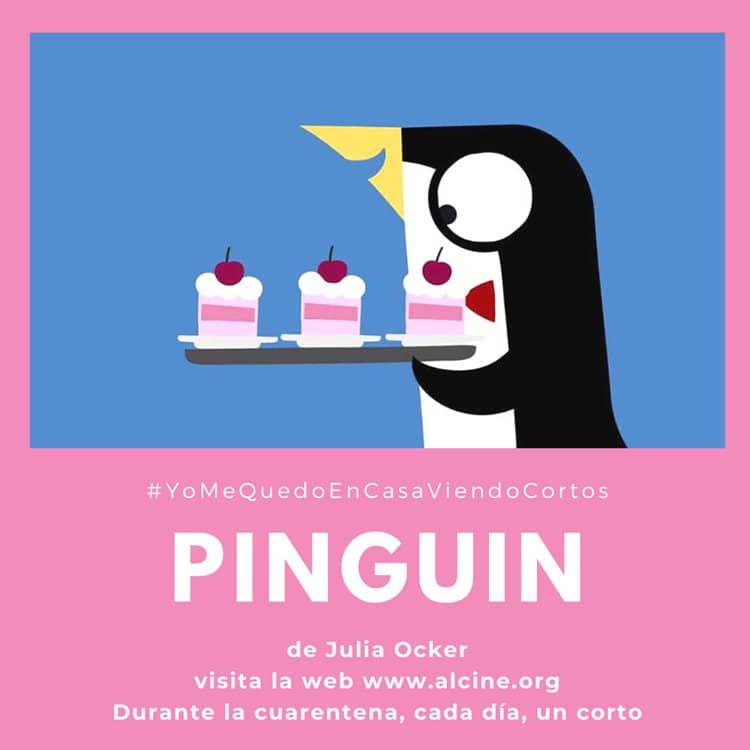 """""""Pinguin"""", de Julia Ocker, 3 minutos de diversión animada para todos los públicos #YoMeQuedoEnCasaViendoCortos"""