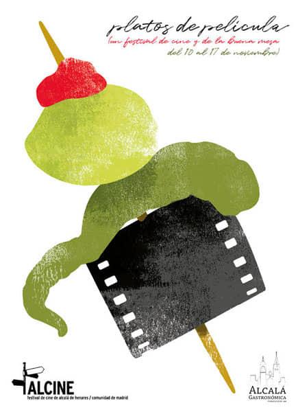 Alcalá Gastronómica pone en la mesa sus 'Platos de película'