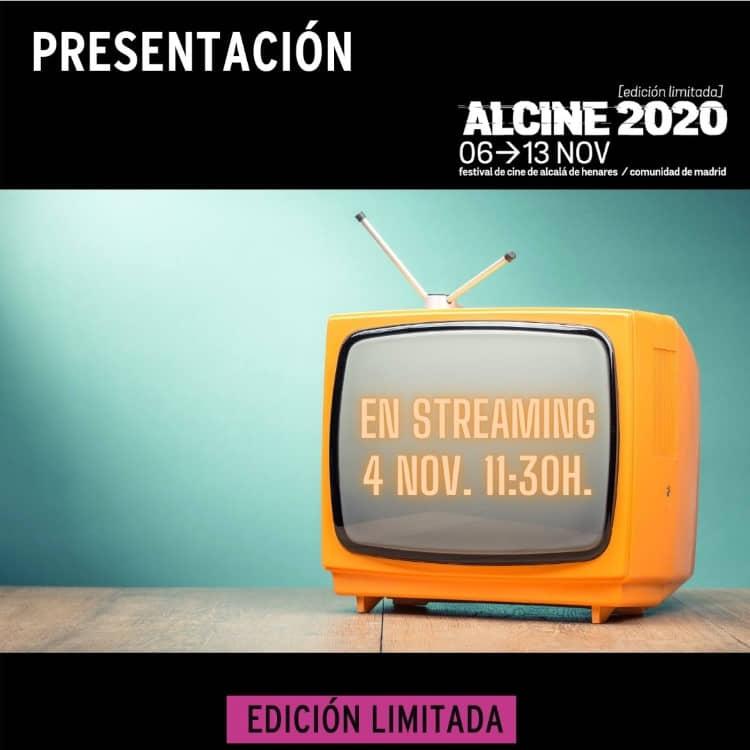 Presentación de ALCINE2020 (Edición limitada) en streaming. 4 de nov. 11:30 h.